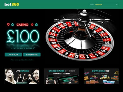 Bet365 Casino Review - $/€/£100 Free Bonus