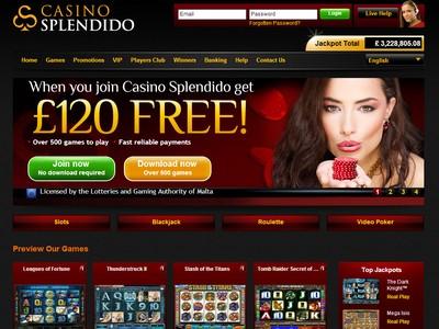 Casino splendido juegos gratis